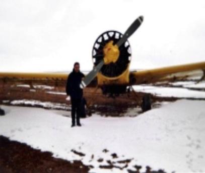 Le S2R TRUSH dans la neige à DJELFA