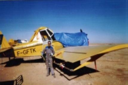Dans le Sahara à COLOMB-BECHAR